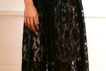Lace dresses/tops