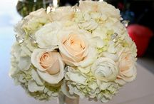 Hydrangeas - bridal bouquet ideas / big but delicate hydrangeas are worth considering