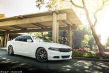 2015 Dodge Charger Fitted with 22 Inch BD-3's in Matte Graphite / Go to www.blaquediamond.com to check out our complete range