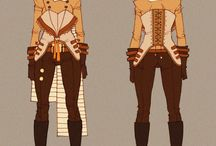 steam punk characters