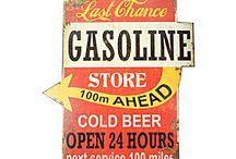 Carteles Gasolineras