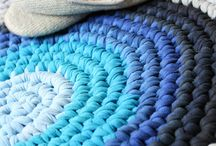 crochet t-shirt rug-basket