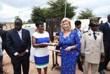 Inauguration de l'école maternelle de Ouéllé
