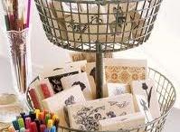 craft room ideas / by Judy Higginbotham