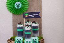 Minecraft cupcakes etc