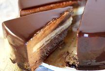 modern cakes (entremets)