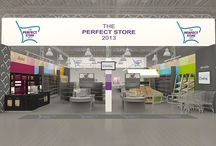 The Perfect Store 2013 {visualization} / We kindly invite all guests to visit the Perfect Store during the RetailShow 2013. It is already the second edition of the store rich in the newest and premiere solutions for commerce.  Innovative trade appliances, furniture, equipment, technology, and solutions of various manufacturers participating in the fair will be presented in a common space. It is a unique opportunity to see and check out all presented solutions and equipment in practice.