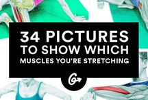 well / stretching, nutrition, yoga