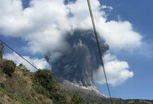 Sakurajima / Sakurajima volcanic eruption