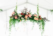 Floral head table
