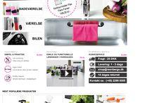 DanishDesign  / A cloth rail for the sink...