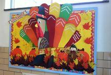 November bulletin boards / by Veronica Shroyer
