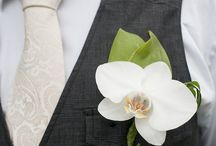 Orchid Boutonniers