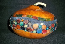 Gourds, Rocks & Wood / I love rocks and stones.  I love gourds, plain and creative. I love wooden art, carved and natural.