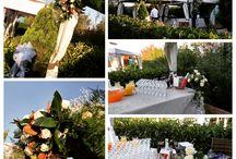 Matrimoni e Allestimenti floreali.