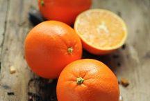 orange, mandarine
