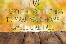 Essential oil > blends