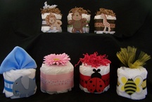 Diaper Cakes / by Kalicia Meyer
