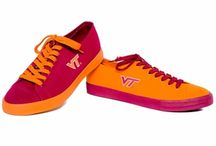 Virginia Tech Footwear / I don't think anything is better than coming home after a long day of work or class and putting on your Virginia Tech comfy socks:) / by Campus Emporium