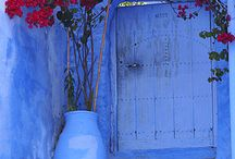 Kék város Marocco