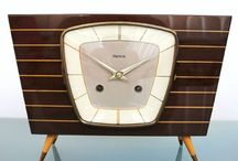 mid century clocks, radios, whatnot / a wicked (visual) obsession