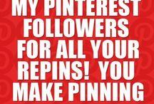 My followers pins! / My followers mean a lot so, thank you followers!  / by Akasuki