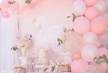 Swan Birthday Party Ideas