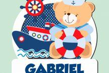 kit marinheiro Gabriel