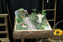 Fairy Garden Ideas / These are fairy gardens that Wilson's has seen on our travels.