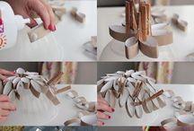 artesanato com rolo papel higienico