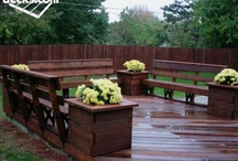 Outdoor Decor / DIY backyard ideas / by Julie Smith