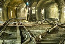 železniční infrastruktura, stavby, ranžíry, depa, nádraží