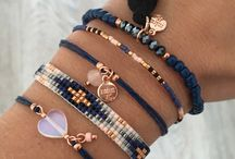 Bracelets and necklaces