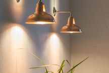 Copper lighting / We have a great selection of copper lights that are great to add the finishing touch to your interior. This board combines inspirational interiors with a showcase of some of the copper lights we sell.