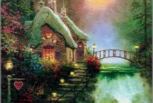 Art THOMAS KINKADE  - PAINTINGS