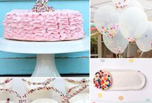 Girl birthday party decoration
