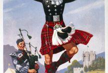 Scotland, Ireland, England