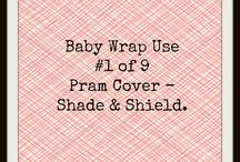 9 very cool uses for the good ol' baby wrap / A baby wrap isn't just for wrapping baby. It's the gift that keeps giving!