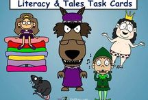***Folk, Fables & Fairy Tale Literacy by TiePlay Educational Resources LLC /  Folk, Fable and Fairy Tale Literacy includes teaching materials for reading these classics. NEW RULE: Please limit pins to 1 NEW product per day. Please stick to the folk, fables and fairy tale theme. I had to delete some pins. If this was your product, please ask to join one of my other subject and clip art boards.Thank you! :)