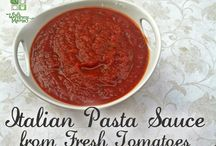 Fresh pasta Saucessauce