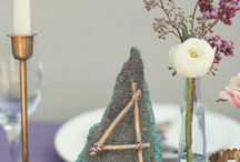 Element of Earth / Event decor ideas and options that invoke the element of earth to the senses.