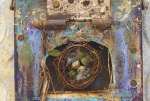 Altered Canvas & Mixed Media / Some inspiration for your next mixed media projects.