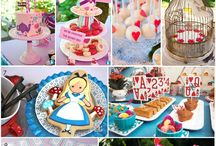 Birthday Party Ideas Alice in wonderland