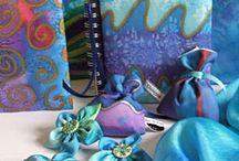 náměty - malované hedvábí (silk)