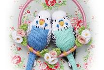 Stuffies & Knitted Toys / by Lucie