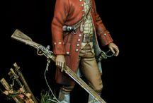 American Revolution / History, American Revolution, AWI, redcoats, minuteman, militiaman, continental army, 1776