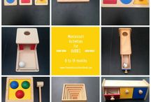 Zabawki dla niemowlaków (DIY i inne)