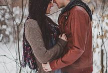 Winter engagement Session / Inspiration for your wintery engagement session.