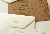 Invitations / by Chelcie Hill