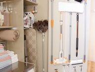 Orden armario limpieza